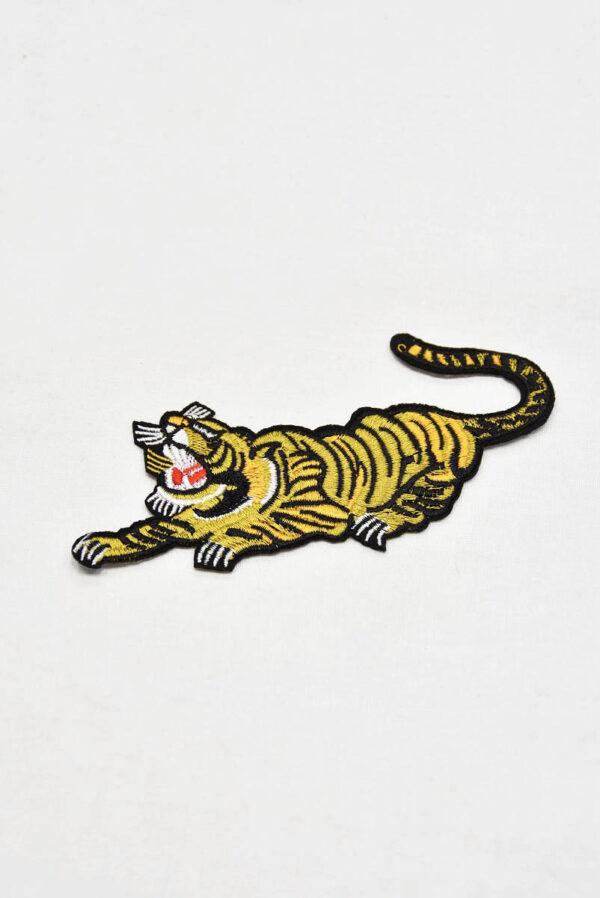 Термоаппликация золотисто-желтый тигр (t0546) А-1 - Фото 6