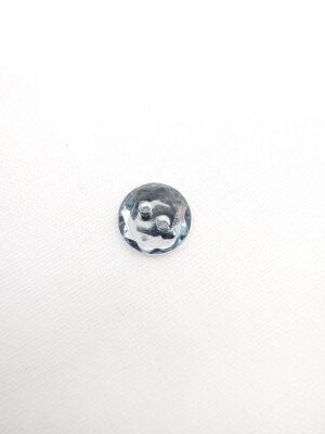 Пуговица пластик круглая на два прокола имитация кристалла светло-голубой (p0557) - Фото 12