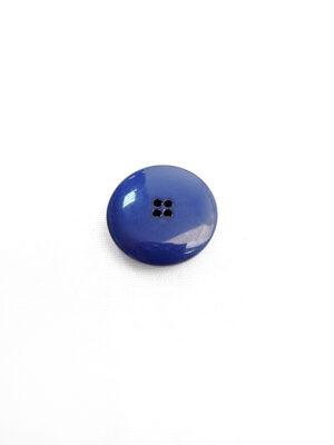 Пуговица пластик круглая на четыре прокола выпуклая цвет синий (p0594) - Фото 19