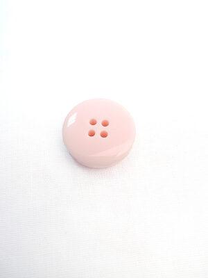 Пуговица пластик круглая толстая большая светло-розовая на четыре прокола (p0597) - Фото 12