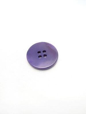 Пуговица пластик круглая большая на четыре прокола фиолетовый перламутр (p0599) - Фото 12