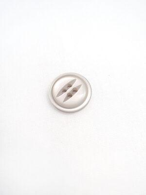 Пуговица пластик круглая маленькая на два прокола две прорези серый перламутр (p0607) - Фото 15