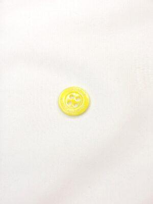 Пуговица пластик маленькая блузочная на прокол желтая (p0645) - Фото 10