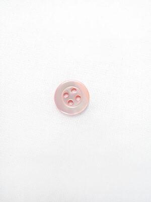 Пуговица пластик круглая маленькая на четыре прокола светло-розовая (p0647) - Фото 13