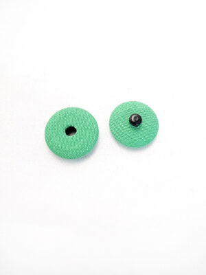 Кнопки пришивные пластик обтянутый тканью цвет зеленый (p0732) - Фото 22