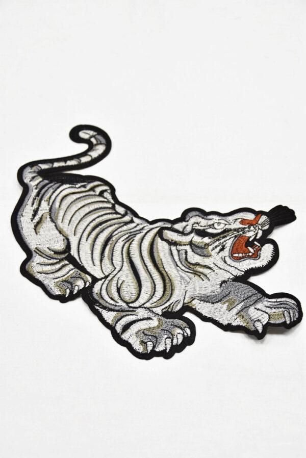 Термоаппликация большой серебристый тигр (t0733) А-2 - Фото 6