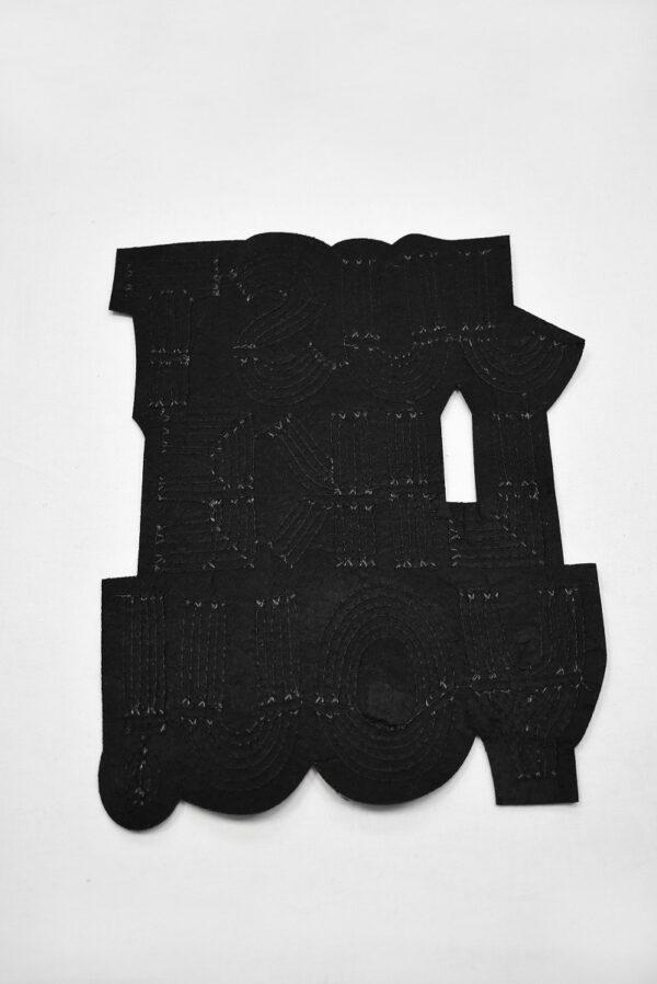 Аппликация пришивная с надписью из пайеток (t0737) А-2 - Фото 8