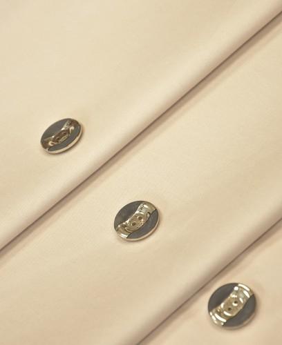 Пуговица круглая комбинированная черная золотая вставка два прокола (p0739) - Фото 9