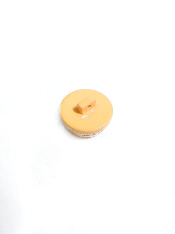 Пуговица круглая на ножке пластик глянцевая цвет желтый (p0780) к1 - Фото 7