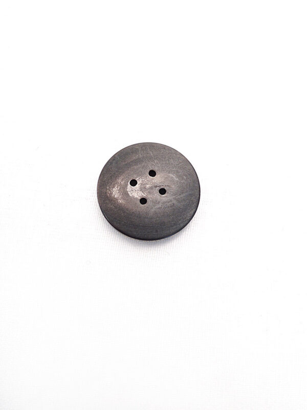 Пуговица круглая пластик на четыре прокола цвет темно-коричневый с разводами (p0792) к21 - Фото 7