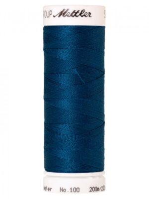 Универсальная нить AMANN GROUP METTLER Германия, SERALON, 200 м (темно-синий цвет 0806) - Фото 12