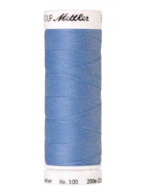 Универсальная нить AMANN GROUP METTLER Германия, SERALON, 200 м (цвет темно-голубой 0818) - Фото 15