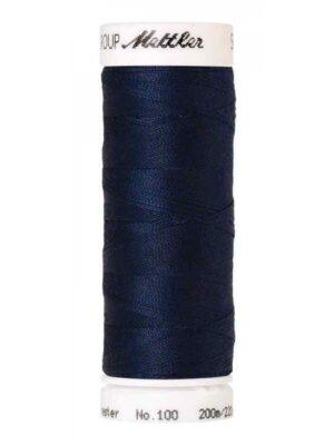 Универсальная нить AMANN GROUP METTLER Германия, SERALON, 200 м (цвет темно-синий 0823) - Фото 15