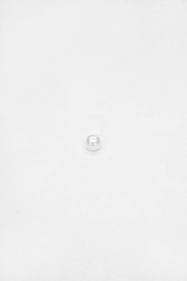 Пуговица полужемчуг светло-серый на металлической ножке (p0872) - Фото 6