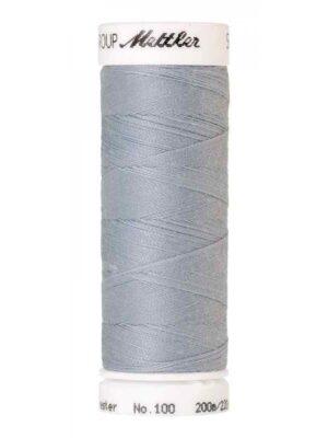 Универсальная нить AMANN GROUP METTLER Германия, SERALON, 200 м (цвет морозный серый 1081) - Фото 15