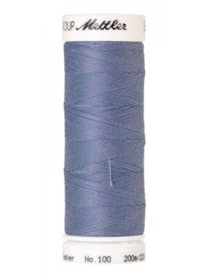 Универсальная нить AMANN GROUP METTLER Германия, SERALON, 200 м (цвет вересково-голубой 1363) - Фото 14