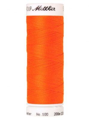 Универсальная нить AMANN GROUP METTLER Германия, SERALON, 200 м (цвет кислотный оранжевый 2260) - Фото 10