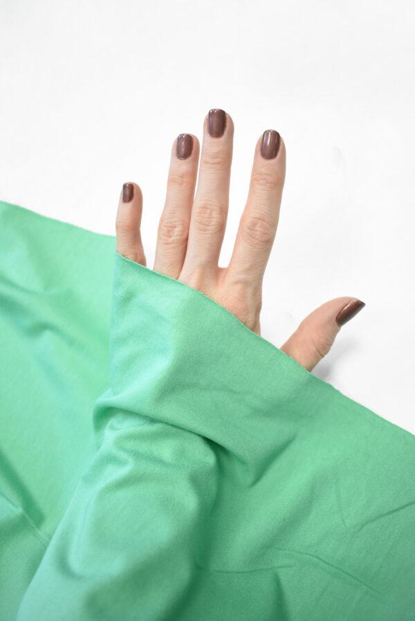 Трикотаж вискоза бирюзовый-зеленый (2261) - Фото 10
