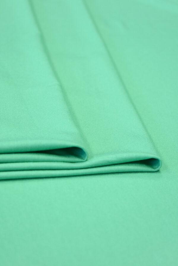 Трикотаж вискоза бирюзовый-зеленый (2261) - Фото 8