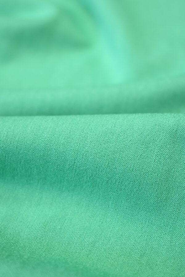 Трикотаж вискоза бирюзовый-зеленый (2261) - Фото 9