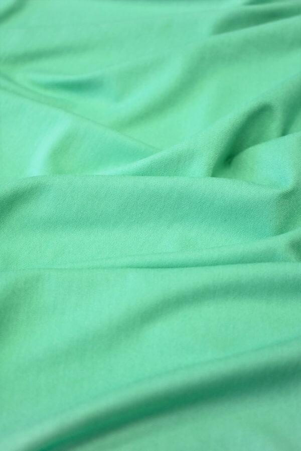 Трикотаж вискоза бирюзовый-зеленый (2261) - Фото 6
