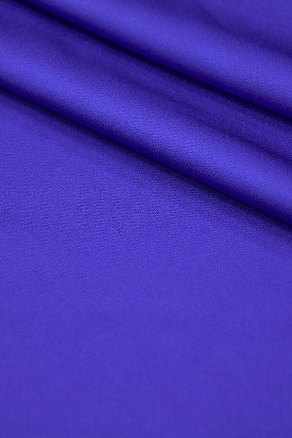 Кади атлас синий электрик (4084) - Фото 7