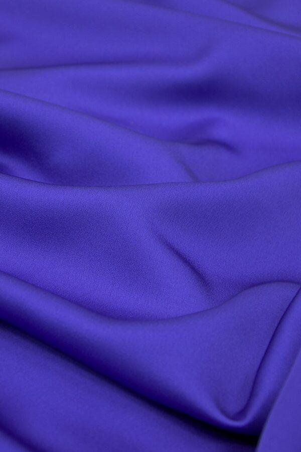 Кади атлас синий электрик (4084) - Фото 6