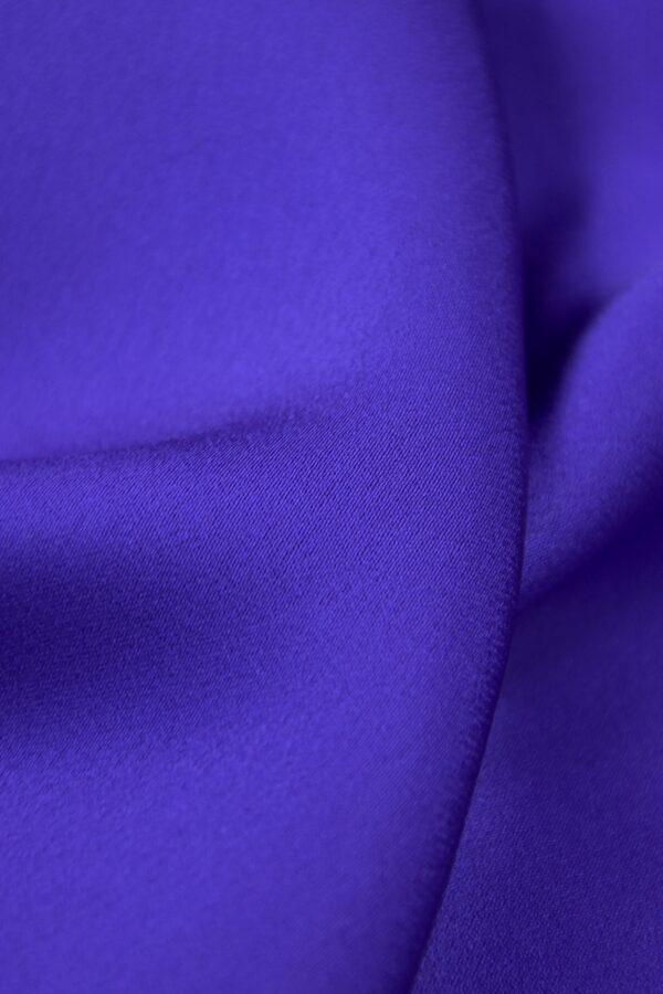 Кади атлас синий электрик (4084) - Фото 9