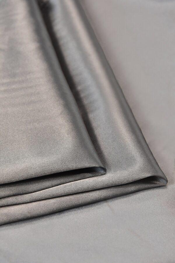 Атлас стрейч серый (4697) - Фото 7
