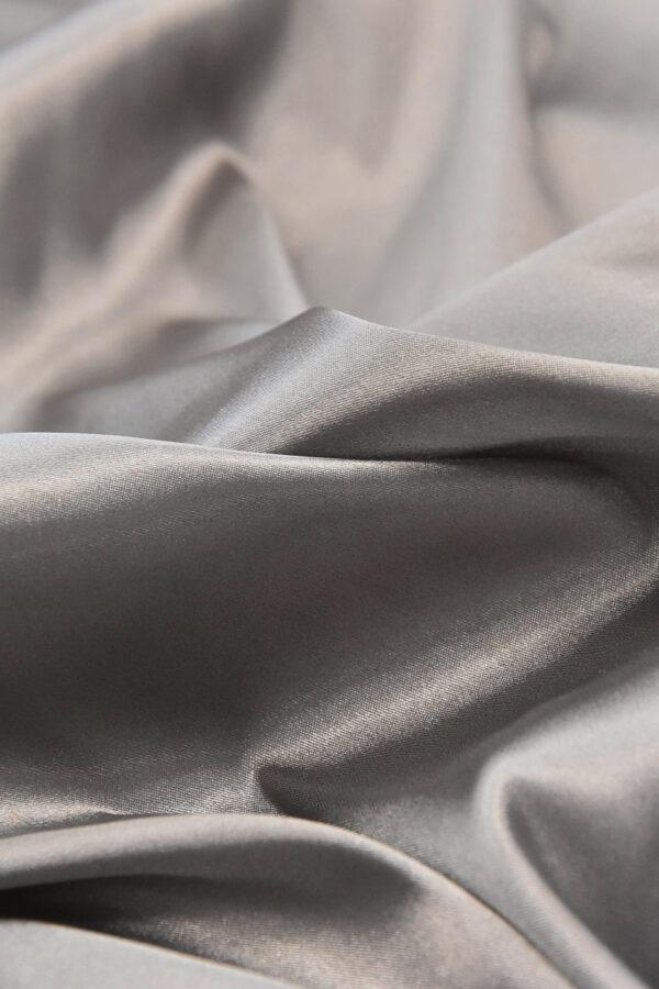 Атлас стрейч серый (4697) - Фото 10
