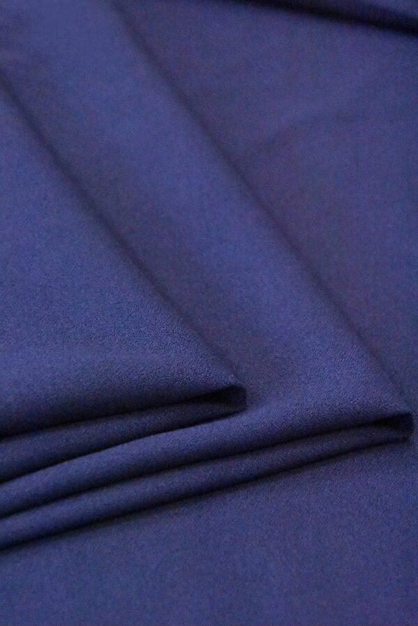 Креп вискоза темно-синий (4845) - Фото 8