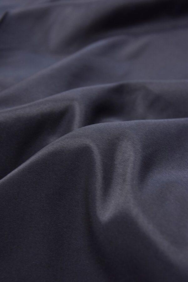Подкладочная вискоза стрейч чернично-синего оттенка (5363) - Фото 8