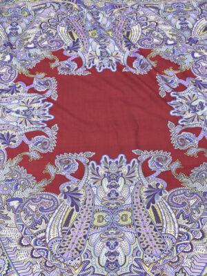 Шерсть плательная платочный купон с пейсли (5464) - Фото 20