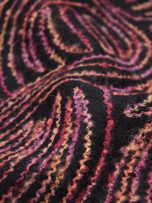 Пальтовая шерсть с разноцветной вышивкой (5704) - Фото 22