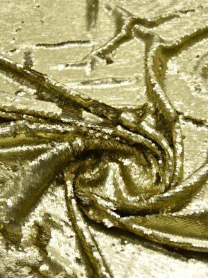 Пайетки двухсторонние золото на трикотажной основе (5801) - Фото 11