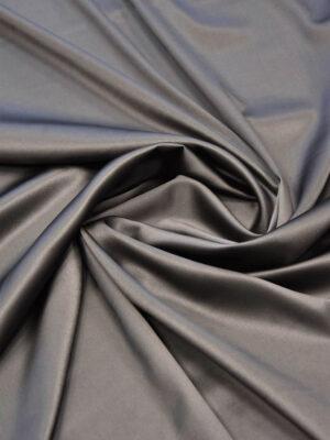 Шелк стрейч темно-серый с коричневатым оттенком (5948) - Фото 12