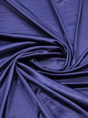 Атлас темно-синий с глянцевым блеском (5992) - Фото 14