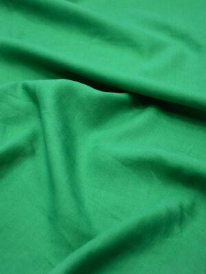Лен плательный зеленый (6485) - Фото 12