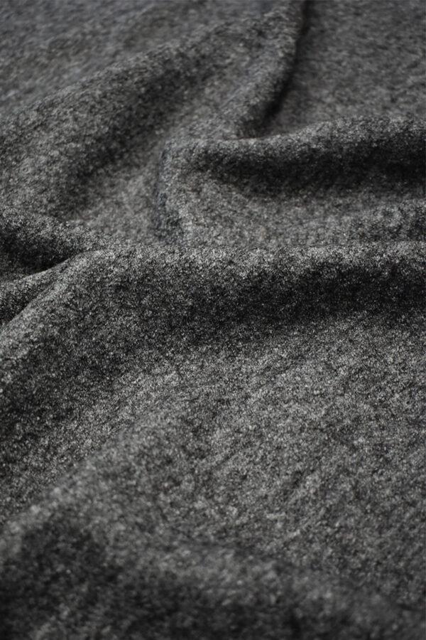 Лоден шерсть стрейч серый меланж (6679) - Фото 6
