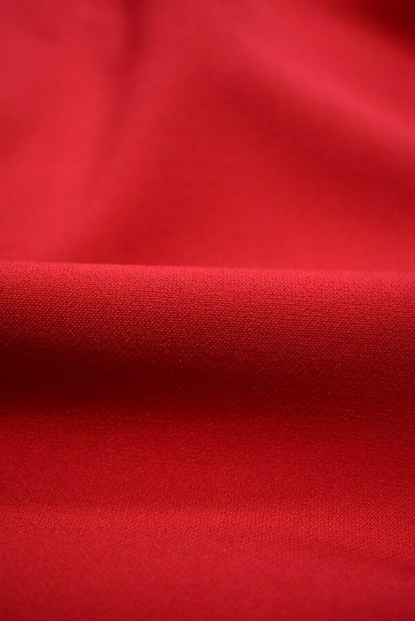 Костюмная стрейч красный оттенок (7570) - Фото 8