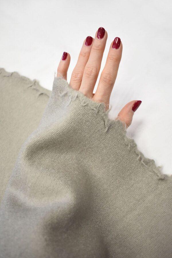 Лоден шерсть серо-дымчатый с бежевым оттенком (7648) - Фото 7