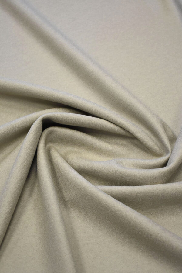 Лоден шерсть серо-дымчатый с бежевым оттенком (7648) - Фото 8