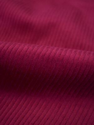 Вельвет оттенок вишня в крупный рубчик (7940) - Фото 27