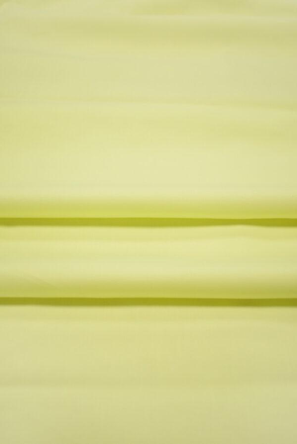 Хлопок стрейч рубашечный светло-желтый (7965) - Фото 9