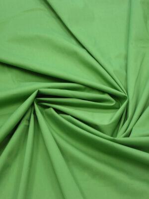 Хлопок стрейч рубашечный светло-зеленый (7970) - Фото 18