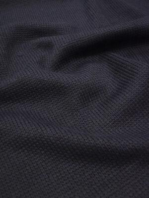 Трикотаж вязаный черничный проклеенный (8602) - Фото 16