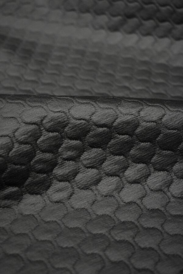 Экокожа темный графит стеганая (8785) - Фото 11