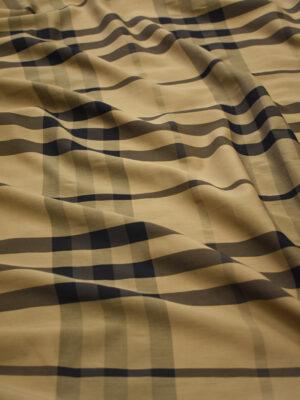 Хлопок рубашечный коричневый в клетку (8820) - Фото 17