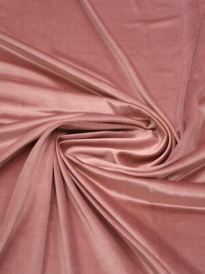 Бархат пыльная роза с блеском (8906) - Фото 10