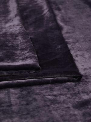 Бархат шелковый темно-сливовый (8931) - Фото 12